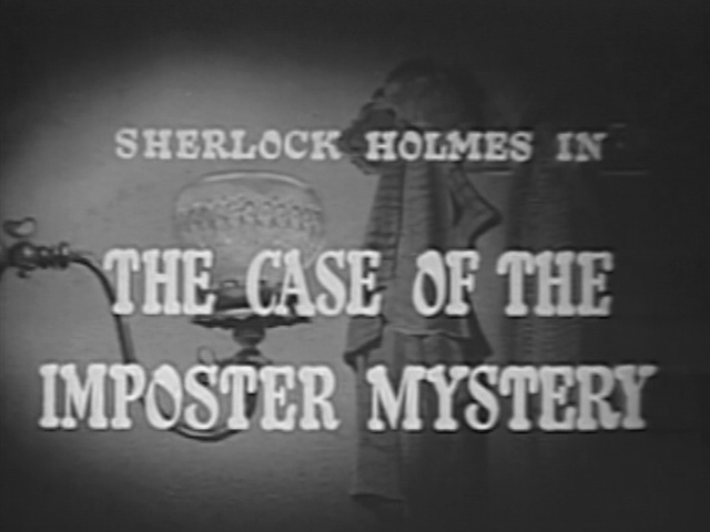 1954 29 The Case of the Imposter Mystery