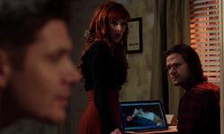 Rowena, Sam und Dean