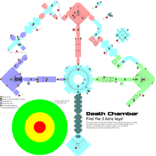 Death Chamber layout