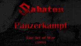 Sabaton Panzerkampf