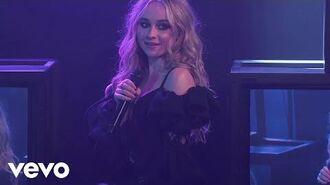 Sabrina Carpenter, Jonas Blue - Alien (Jimmy Kimmel Live! 2018)