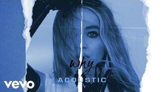 Sabrina Carpenter - Why (Acoustic Audio Only)