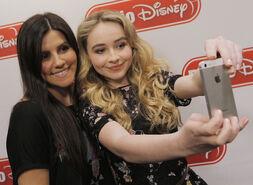 Selfie fan