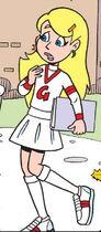 Sabrina in a Cheerleader Uniform (1)
