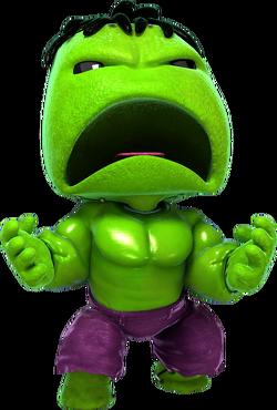 Hulk Costume Pose