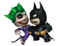 Batman and Joker Clash
