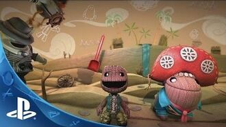 LittleBigPlanet 3 - Community Crafted Launch Trailer PS4