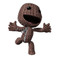 Sackboy happy