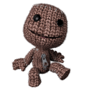 Sitting Sackboy