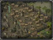 Скала воронов, квартал бедноты 3