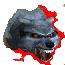 Снежный волк (иконка)