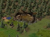 Тимбертон, орочьи лагеря 8
