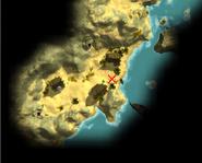 Легендарные пиратские сокровища — Миникарта странного камня