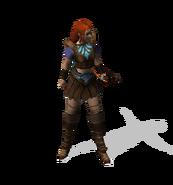 Разбойница (в броне)