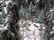 Долина Айс-Крик, статуя серафима 4