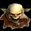 Скелет-волшебник (иконка)