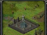 Статуя воительницы (таверна «Пьяный дракон»)