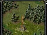 Статуя волшебницы (замок «Скала воронов»)