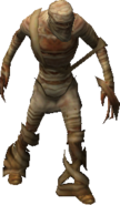 Пустынная мумия