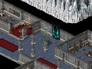 Монастырь серафимов, статуя воительницы 4