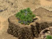 Остров Пиратов, статуя воительницы 4