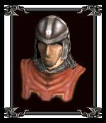 Капитан гвардейцев Шакуры (портрет)