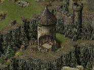 Замок «Скала Воронов», башня 4