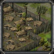 Замок «Скала Воронов», Тиндра 1