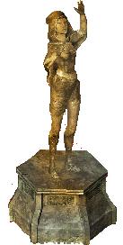 Статуя волшебницы