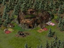 Тимбертон, орочьи лагеря 5
