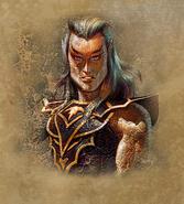 Тёмный эльф (портрет)