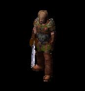 Бандит в броне