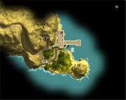Остров судьбы на мини-карте