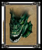 Болотный дракон (портрет)