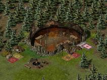 Тимбертон, орочьи лагеря 6