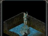 Статуя волшебницы (руины храма Шаддар-Нура)