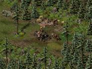 Тимбертон, лесной лагерь 4