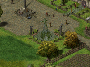 Перекрёсток Фей, священная статуя 4
