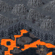 Алькабаза-нок-Драко, проход к дракону 3