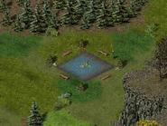 Скала воронов, пруд 4