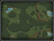 Бальзамирующий лес, статуя воительницы 3