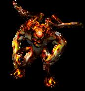 Покорный огненный демон Внешнего Мира