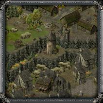 Замок «Скала Воронов», башня 1
