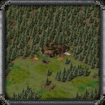 Тимбертон, орочьи лагеря 1