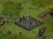 Таверна «Пьяный дракон», статуя воительницы 4