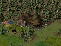 Тимбертон, орочьи лагеря 7
