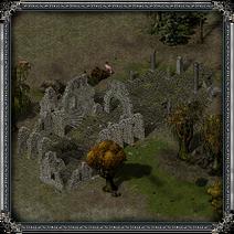 Дракенден, руины восточные 1