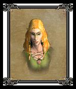 Лесной эльф (зелёный) (портрет)