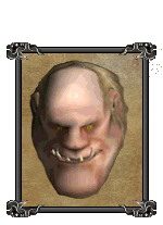 Огр-воин (портрет)