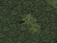 Бальзамирующий лес, статуя воительницы 4
